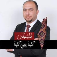 المحامي نور النتشة من الخليل في فلسطين
